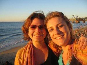 Les 2 copines partie au Chili en 2008